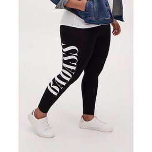 🆕 Torrid Premium Black 'Badass' Legging 1X 14 16
